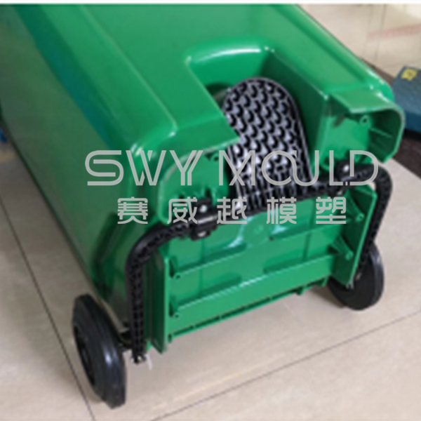 120L Wheeled Dustbin Mould