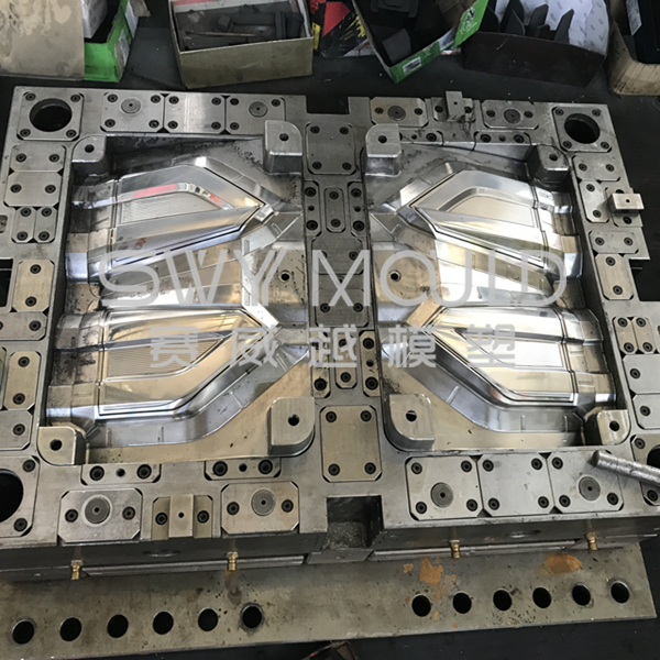 Auto Plastic Rear Lamp Injection Mold