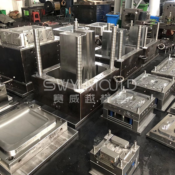Classfied Dustbin Injection Molding
