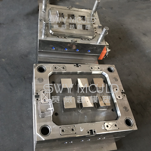 Plastic Dessert Cup Injection Mould