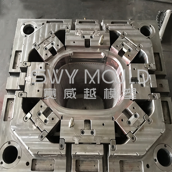 Dirty Clothes Basket Plastic Injection Molding