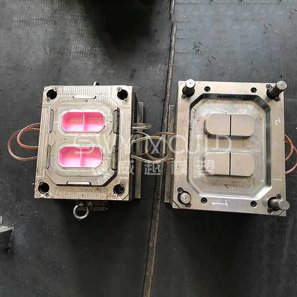 Layered Tableware Injection Mold