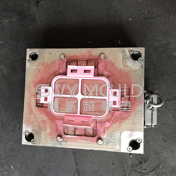 Lunch Container Plastic Lock Cover Mould