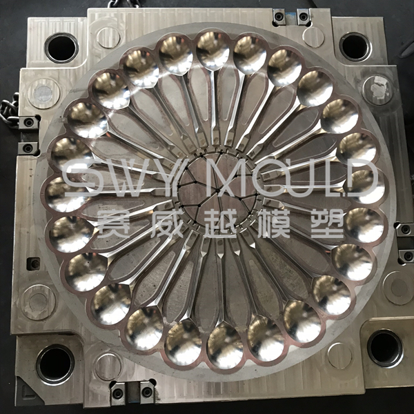 Plastic 24 Cavity Spoon Mould