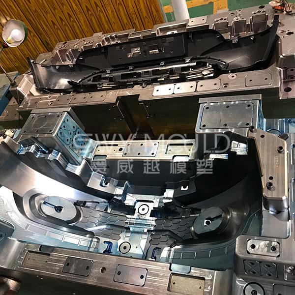 Plastic Auto Bumper Moulding