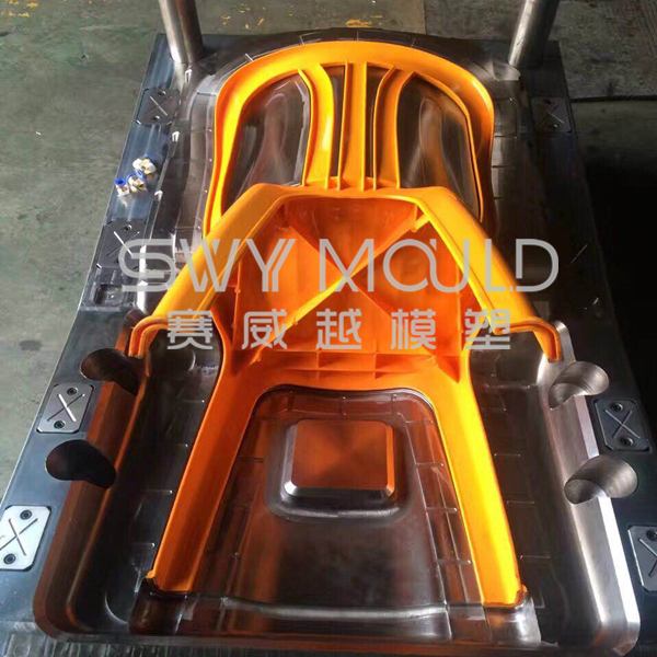 Plastic Back-rest Chair Mould