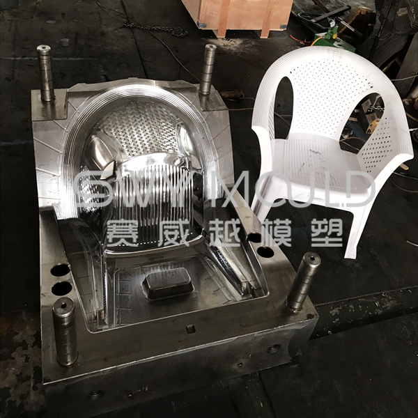 Plastic Chair With Back Mould