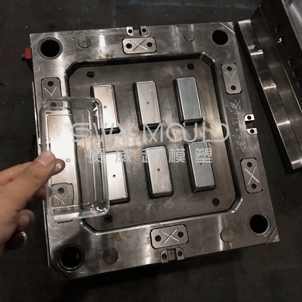 Plastic Cookie Box Injection Mold