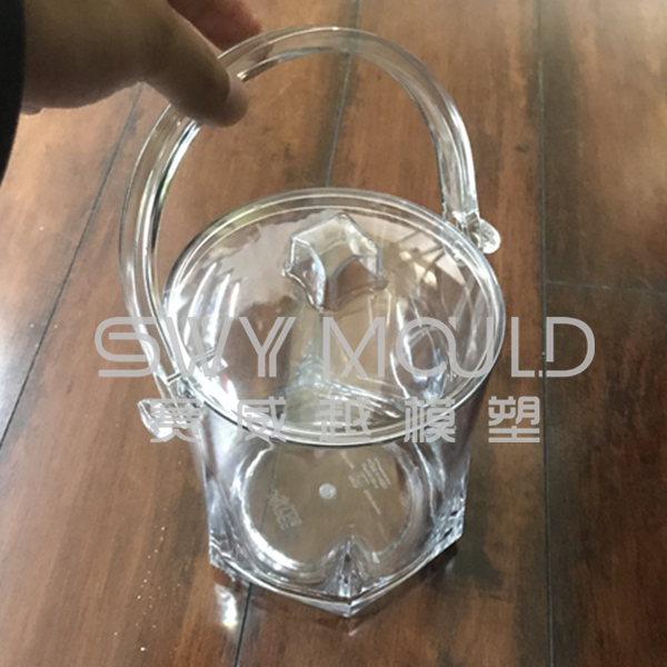 Plastic Jar Mould With Handle