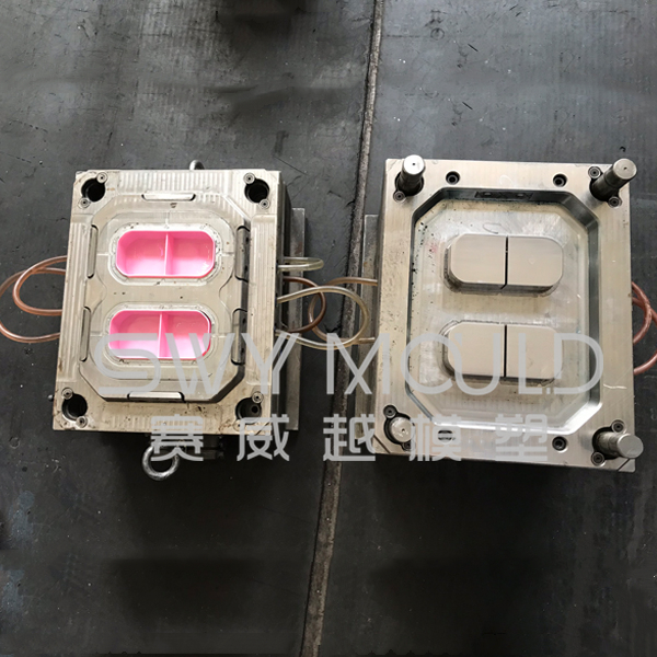 Plastic Preservation Box Injection Mold
