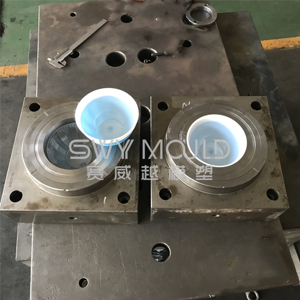 Plastic Round Double Color Bowl Mould