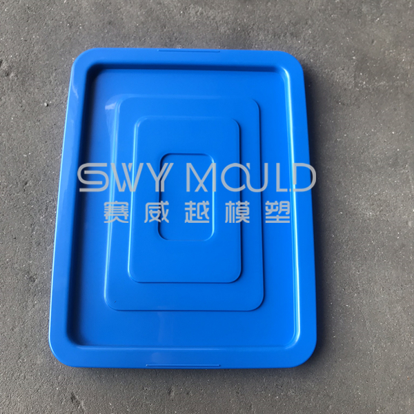 Plastic Sanitation Garbage Can Lid Mould