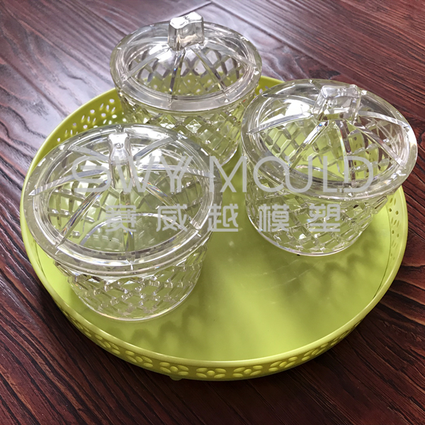 Plastic Sugar Bowl Mould