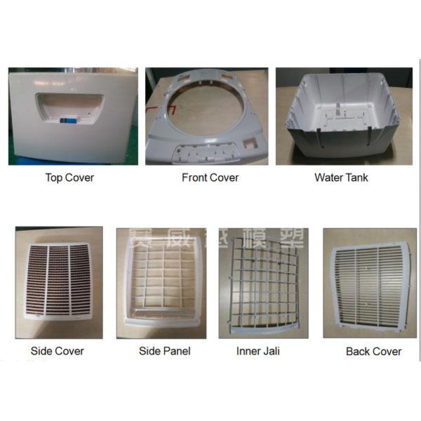 Plastic Air Cooler Part Mould