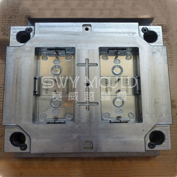 Plastic Electric Socket Shell Injection Mould