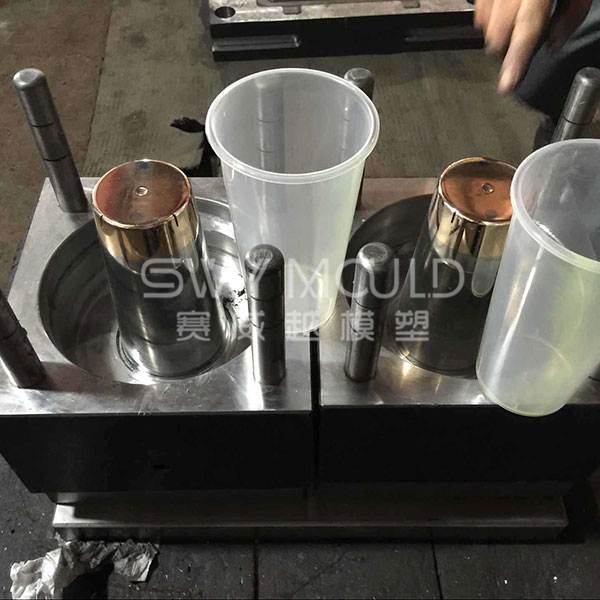 Plastic Milk Tea Cup Injection Mould