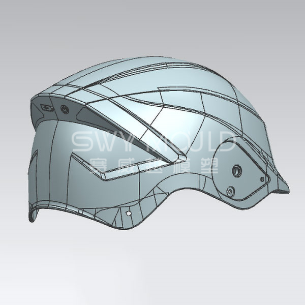 Plastic Motorcycle Helmet Mould