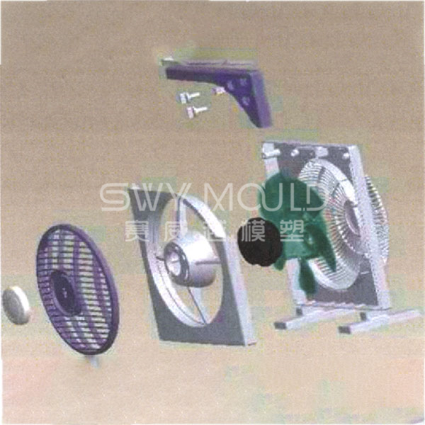 Plastic Shell Mould For Home Electric Fan