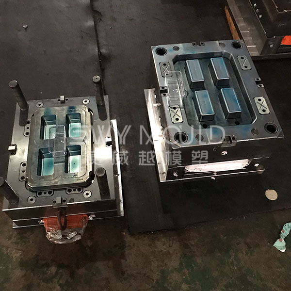 Rectangle Food Box Injection Mould