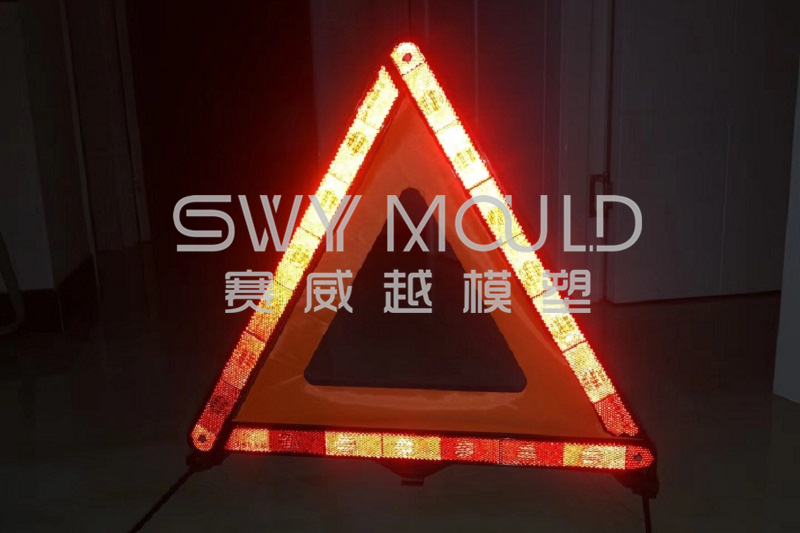 Plastic Mold For Road Safety Reflective Warning Triangle
