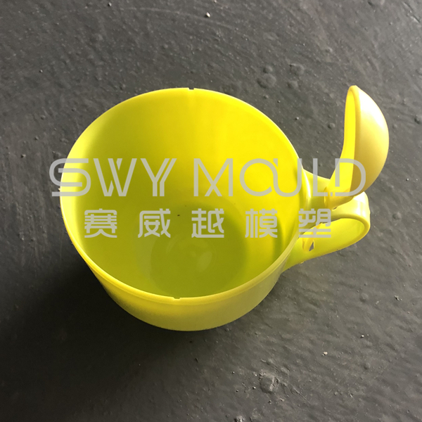 Mould Of Portable Plastic Bowl With Spoon