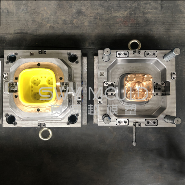 Playing Sand Plastic Square Bucket Mould