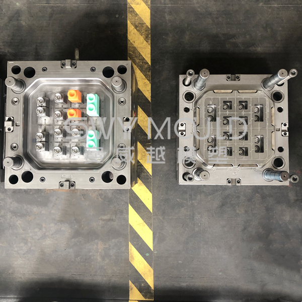 Soft TPE Injection Mold Of Toy Building Blocks