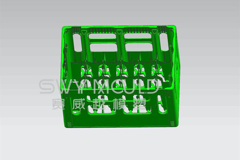 Design Of Plastic Basket Injection Mould