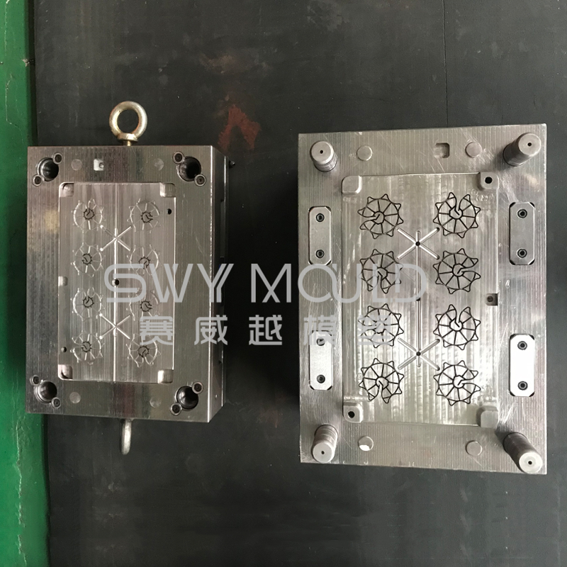Plastic Mould Of Construction Spacer Wheel