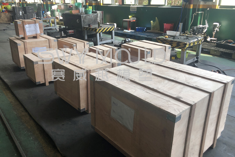 Plastic Basket & Dustbin Lid Molds Shipped To Thailand