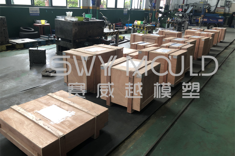Plastic Child Product Injection Molds Sending To Macedonia