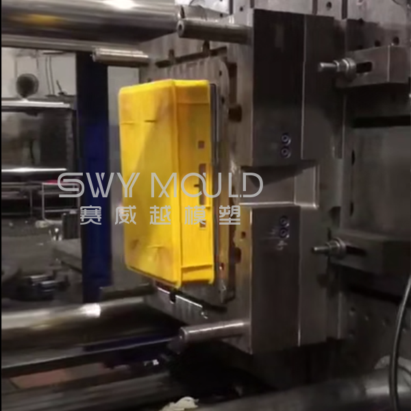 Plastic Euro Stacking Container Injection Molding