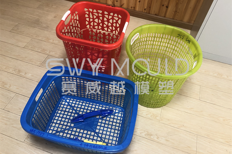 Three New Plastic Basket Samples Arrived To Make Injection Molds