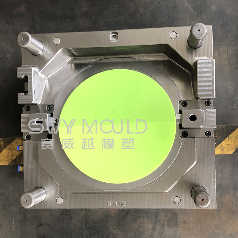 Injection Mold Of Plastic Swinging Rubbish Cover
