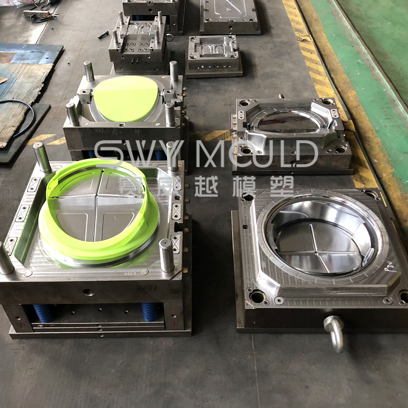 Plastic Swing Recycling Bins Injection Mould