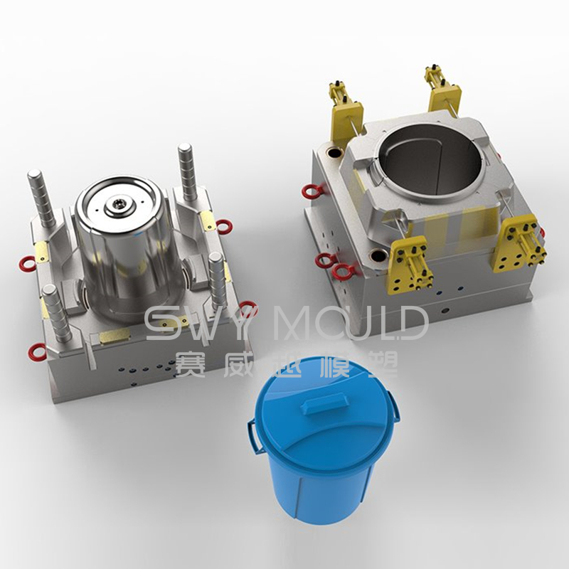 Plastic Injection Mold Of Kitchen Recyclable Bin