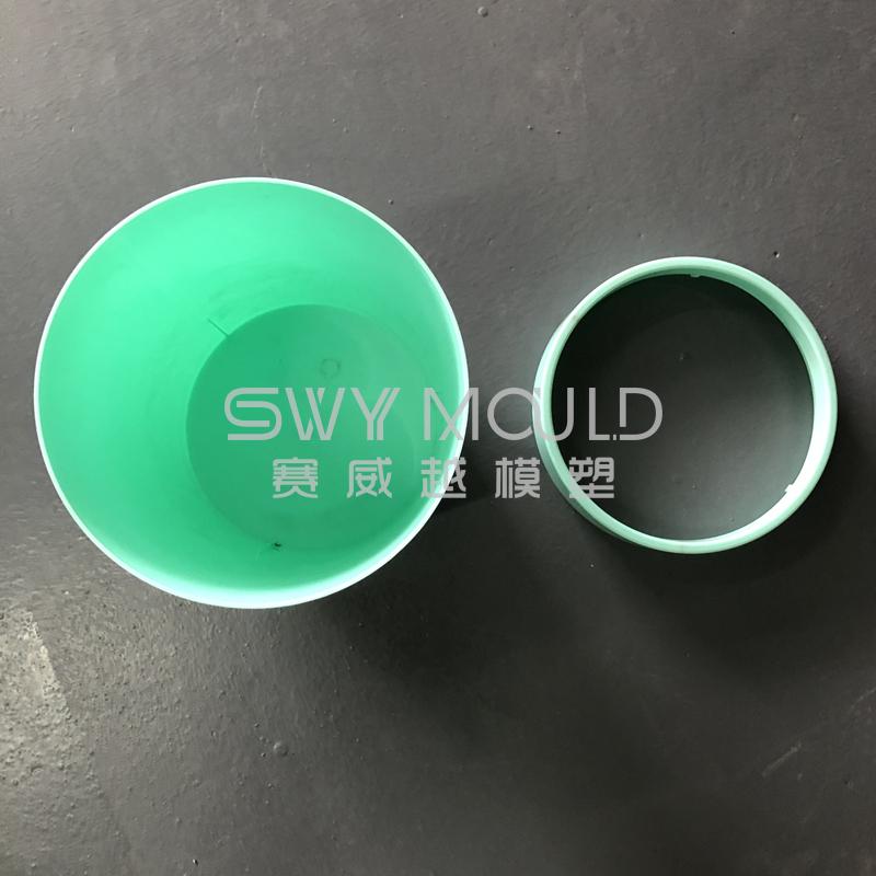 Waste Paper Plastic Basket Injection Molding